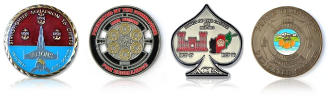 Custom Coins and Challenge Coins | The-Coin-Factory com